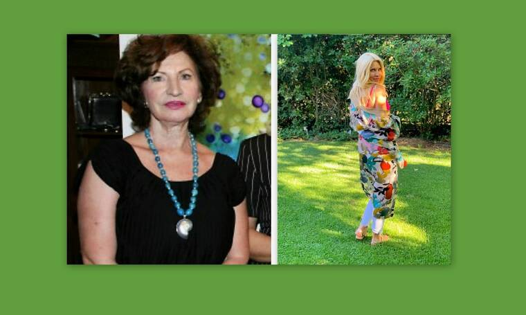 Ελένη Μενεγάκη:Οι μοναδικές φώτο της πεθεράς της από τις διακοπές στην Κάρυστο
