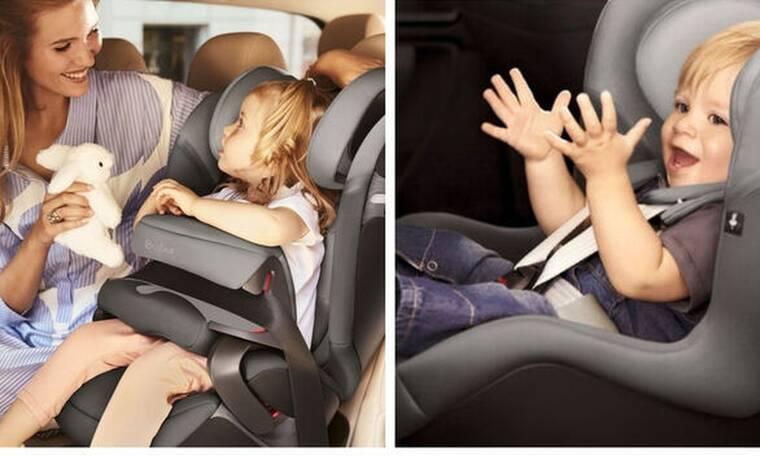 Παιδικά καθίσματα από το… μέλλον – Όσα πρέπει να γνωρίζετε