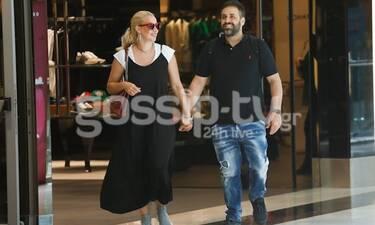 Γιαννιάς - Παντελιδάκη: Βόλτα για ψώνια σε εμπορικό κέντρο (Photos)