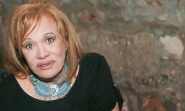 Τα μοναχικά 87α γενέθλια της Μαίρης Χρονοπούλου και η θλίψη (photos)