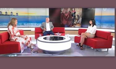 Απίστευτο απρόοπτο στον αέρα του Μίνι Καύσωνα με καλεσμένη την Μοιραράκη