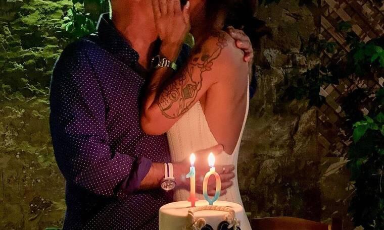 Επέτειος 10 χρόνων για ερωτευμένο ζευγάρι της ελληνικής σόουμπιζ! (Photos)