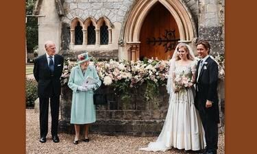 Οι πρώτες φωτό από τον γάμο της πριγκίπισσας Βεατρίκης με... δανεικό νυφικό!