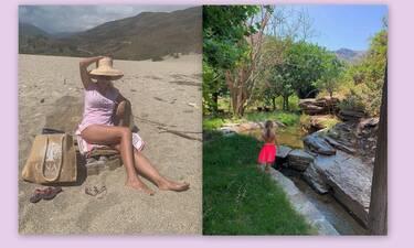 Κορμάρα η Μενεγάκη: Το μπικίνι και τα παιχνίδια στη θάλασσα με την Μαρίνα