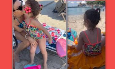 Κι όμως αυτή η πανέμορφη μικρή έχει γνωστή Ελληνίδα μαμά (Photos)