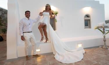 Ο μυθικός γάμος του Αλέξανδρου Αγγλούπα στη Μύκονο (Φωτογραφίες)