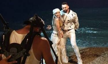Bo - Antonella: Δείτε backstage από το νέο τους video clip για το Poco Poco