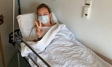 Ρέβη:Το μήνυμα από το δωμάτιο του νοσοκομείου:«Φοβήθηκα,αγχώθηκα »