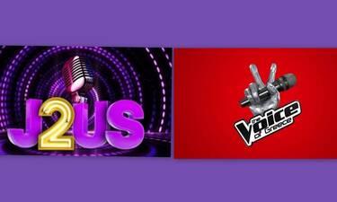 Μεταγραφή - βόμβα: Από το «The Voice» στο «J2US» (Photos)