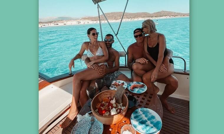 Οικονομάκου: Οι ονειρεμένες διακοπές με τον σύζυγό της και Κοντοβά-Καλημέρη