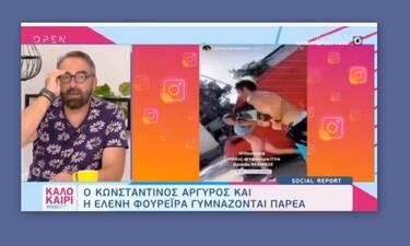 Καλοκαίρι #Not:Απίστευτα σχόλια για Φουρέιρα–Αργυρό που έτρεχαν στη Θεσσαλονίκη