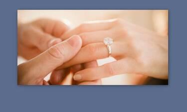 Κι άλλος γάμος στην ελληνική showbiz - Η ανακοίνωση και το μονόπετρο!