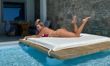 Κωνσταντίνα Σπυροπούλου: Αδυνάτισε κι άλλο και πόσταρε την πιο σέξι φώτο της!