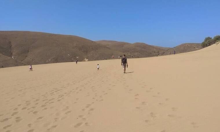 Και όμως, υπάρχει έρημος στην Ελλάδα
