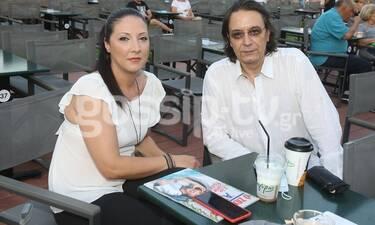 Γιάννης Κότσιρας: Σπάνια έξοδος με τη σύζυγό του Κατερίνα! (photos)