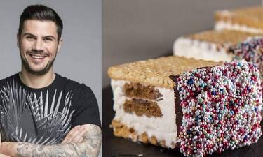 Με τέτοιο καύσωνα, ένα παγωτό σάντουιτς από τον Άκη, είναι ό,τι πρέπει!