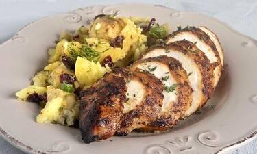Πεντανόστιμο γλυκόξινο κοτόπουλο στον φούρνο από τον Άκη Πετρετζίκη!