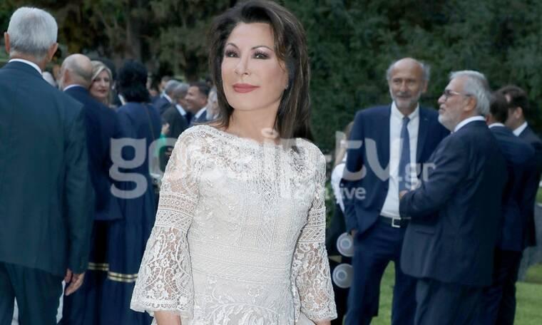Η Γιάννα Αγγελοπούλου στο Προεδρικό Μέγαρο (photos)