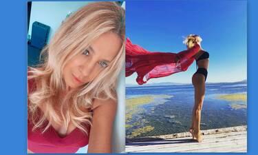 Γωγώ Μαστροκώστα: Οι βουτιές με την κόρη της-Έτσι είναι το κορμί της στα 49