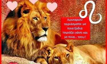 Με ποιους ταιριάζει το Λιοντάρι και σε ποιους λέει bye bye;