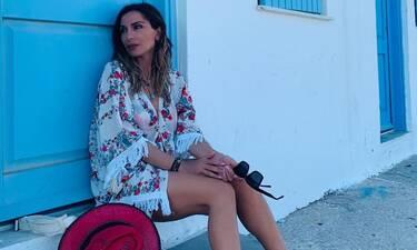 Δέσποινα Βανδή-Μελίνα Νικολαϊδου: Με μπικίνι στην παραλία! (photos)