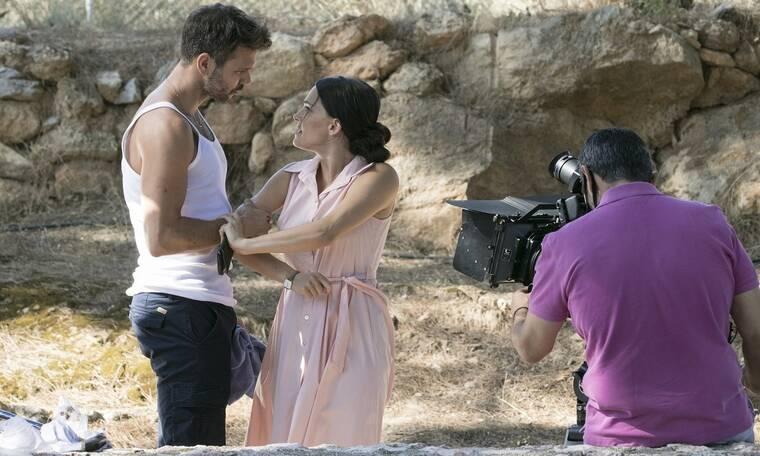 Αγγελική: Οι πρώτες φωτό από τα γυρίσματα της νέας σειράς του ALPHA (Pics)