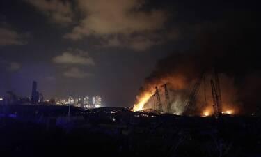 Βηρυτός – LIVE: Ισοπεδώθηκε η πόλη – Δεκάδες νεκροί από τις φονικές εκρήξεις σε αποθήκες εκρηκτικών