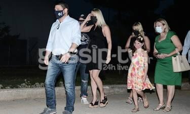 Νίκος Χαρδαλιάς: Θεατρική έξοδος με την οικογένειά του - Πήγαν στον Σεφερλή