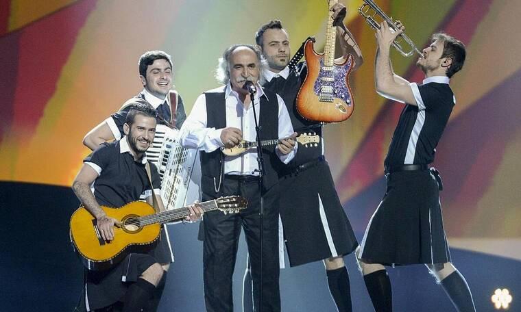 Αγάθωνας: Πώς από το ρεμπέτικο πάλκο βρέθηκε στη σκηνή της Eurovision (vid)