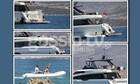 Hanks-Wilson: Η βόλτα με σκάφος ανοιχτά της Αντίπαρου και τα τρυφερά φιλιά
