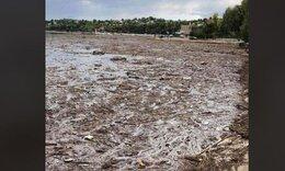 Πλημμύρες Εύβοια: Απίστευτες εικόνες στο Δήλεσι. Δείτε πώς κατέληξε η παραλία (video)