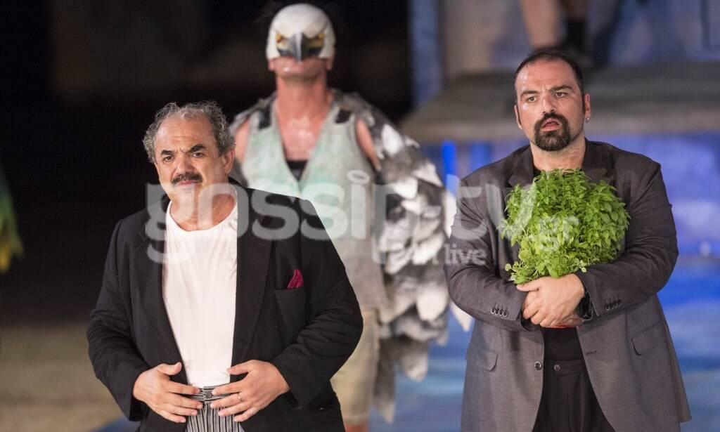 Όρνιθες-Επίδαυρος: Επιτυχημένη παράσταση, παρά τη βροχή και τον... κορονοϊό!