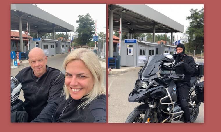 Κοντοβά - Καλημέρης: Έφτασαν στα σύνορα Ελλάδας - Τουρκίας με τη μηχανή!