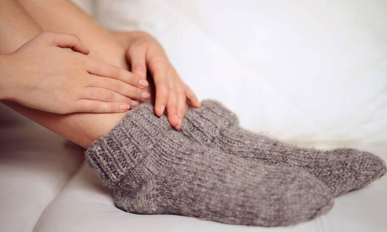 Τα πόδια σου είναι συνέχεια παγωμένα; Μάθε το λόγο