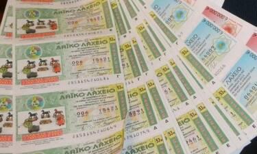 To Λαϊκό Λαχείο μοίρασε περισσότερα από 2,5 εκατομμύρια ευρώ τον Ιούλιο