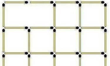 Πόσα τετράγωνα είναι στην φωτογραφία; Μόλις το 4% απαντά σωστά (photo+video)