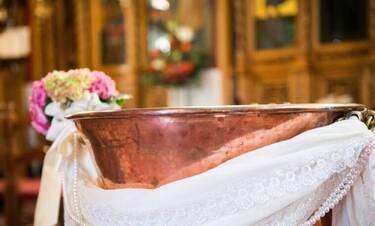 Ζευγάρι της σόουμπιζ βάφτισε τον γιο του με μόλις 23 καλεσμένους λόγω κορονοϊού