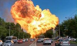 Απίστευτη έκρηξη σε βενζινάδικο τρομοκράτησε τους οδηγούς (video)