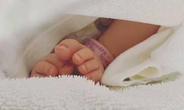 Ελληνίδα ηθοποιός ανέβασε την πιο τρυφερή φωτό με την τριών μηνών κόρη της!