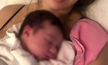Η Σταρ Ελλάς γέννησε και αυτή είναι η πρώτη φωτό με το νεογέννητο μωρό!
