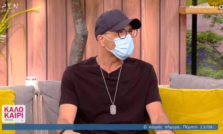Βαλάντης: Εμφανίστηκε με μάσκα στο Καλοκαίρι #not - Τι είπε για τον Ρέμο
