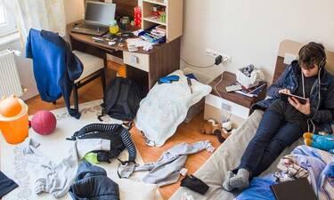 Αφήνεις το δωμάτιό σου ακατάστατο; Υπάρχει πρόβλημα