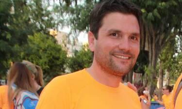 Ο Ντίνος Σιωμόπουλος ανέβασε την πρώτη φωτό του νεογέννητου γιου του! (pics)
