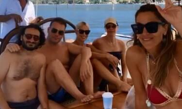 Μπακοδήμου-Χαραλαμπόπουλος:Οι διακοπές στο Πήλιο με τη Βανδή και την κόρη της