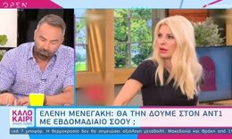 Ελένη Μενεγάκη: Με νέο σόου στον ΑΝΤ1; - Όλο το παρασκήνιο (Pics-Vid)
