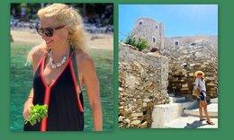 Ελένη Μενεγάκη: Η νέα φωτό από τις διακοπές της και τα φοβερά γυαλιά ηλίου!