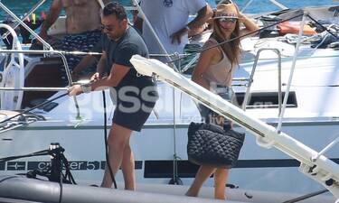 Νέες φωτό από τις διακοπές Τσολάκη - Πετρουλάκη: Άλλος για τη... βάρκα τους;