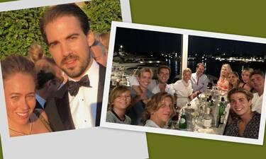 Oι ελληνικές διακοπές Παύλου και Φίλιππου σε φωτό (photos)