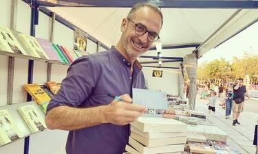 Κώστας Κρομμύδας: Αυτό είναι το νέο του βιβλίο - Όλα όσα αποκάλυψε (pics)