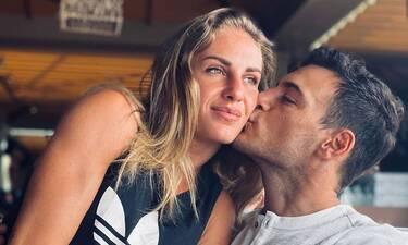 Δαλάκα:Η φωτό με το φιλί στο στόμα στο Instagram και το σχόλιο του συντρόφου της